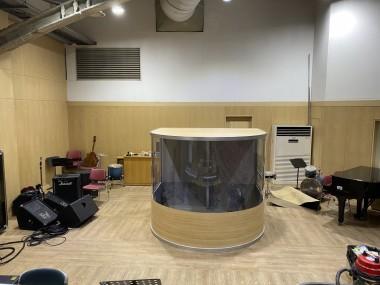 선한목자교회 드럼부스 타입D 라이트 설치