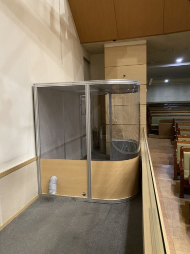 한성교회 드럼부스 타입D라이트 커스텀 제작