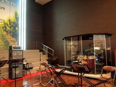지구촌교회(분당 성전) 쉴드 설치기
